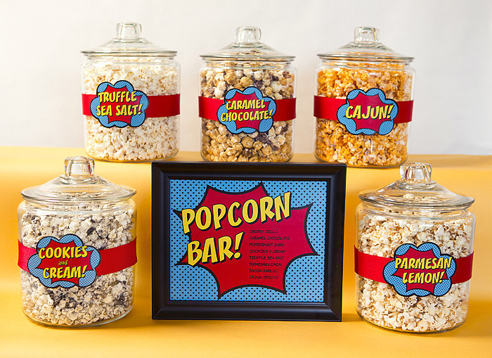 Monday: Popcorn Bar