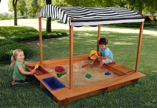 KidKraft Sandbox With Canopy
