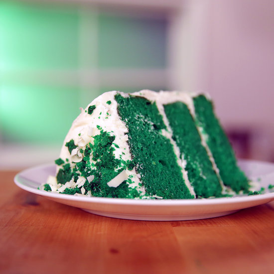 Red Velvet Cake Goes Green For St. Paddy's Day