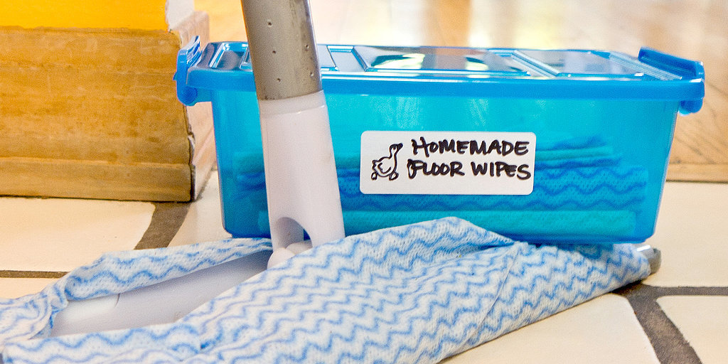 31 Days of Spring Cleaning DIYs: Reusable Floor Wipes