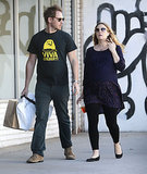Drew Barrymore & Will Kopelman Fit In Retail Therapy