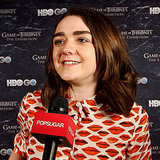 Maisie Williams Talks Arya Stark on Game of Thrones Season 4
