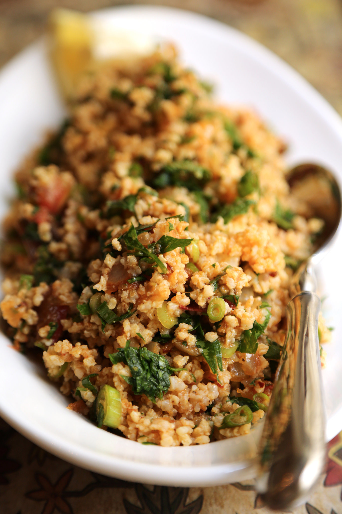 Fast easy healthy recipe for quinoa tabbouleh popsugar for Cuisine quinoa