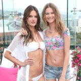 Behati Prinsloo at the VS Swim Collection 2014 Launch