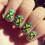 Pictures of St Patrick's Day Nail Art From Instagram