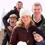 Jon Hamm and Jimmy Fallon Photobombing Tourists in NYC