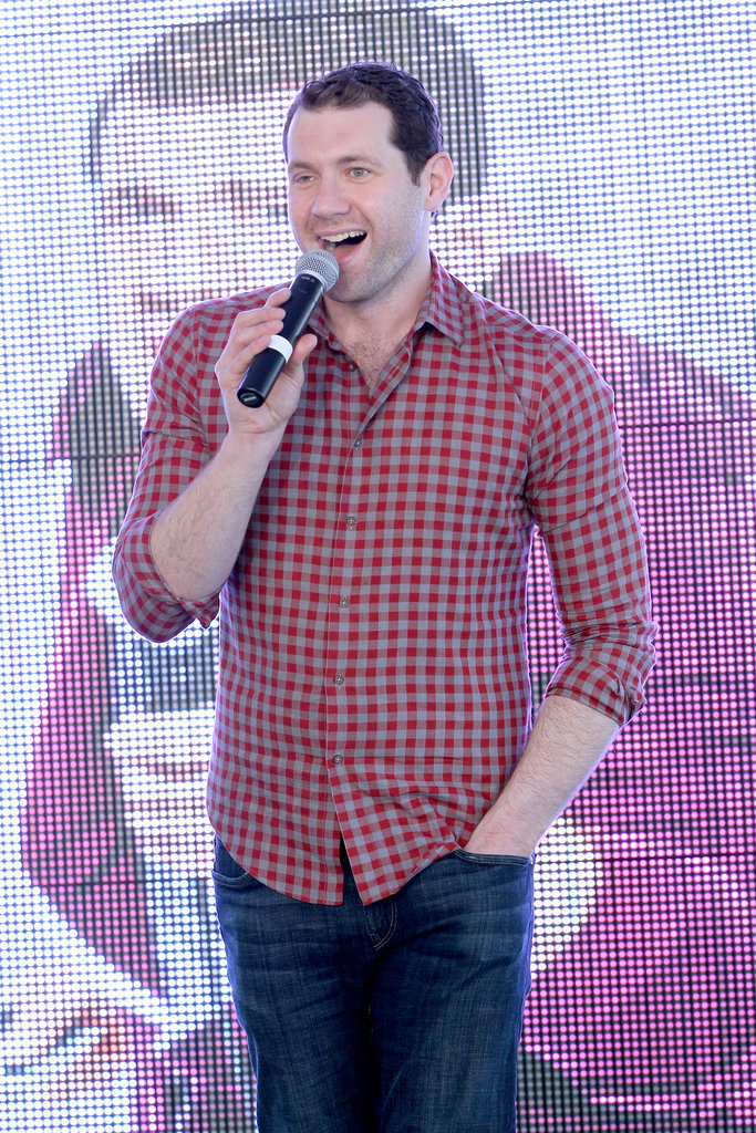 Billy Eichner took the stage on Monday.