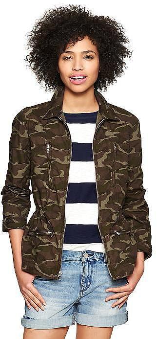 Gap Camo Jacket