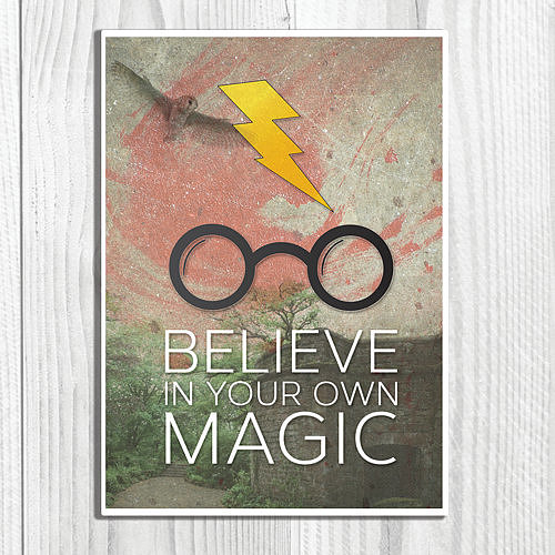 Believe in your own magic ($9-$15)