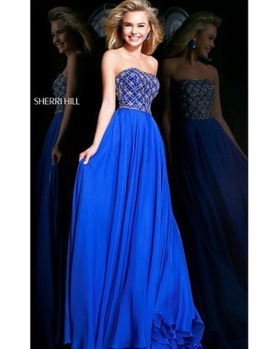 2014 Royal Prom Dress Sherri Hill 11107