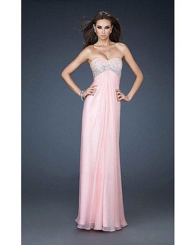 2014 Pink Prom Dress by La Femme 18198