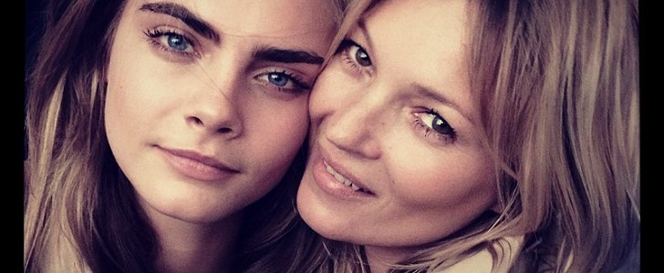Three Words: Cara Delevingne, Kate Moss, and Burberry