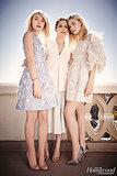 Dakota Fanning, Samantha McMillen, and Elle Fanning