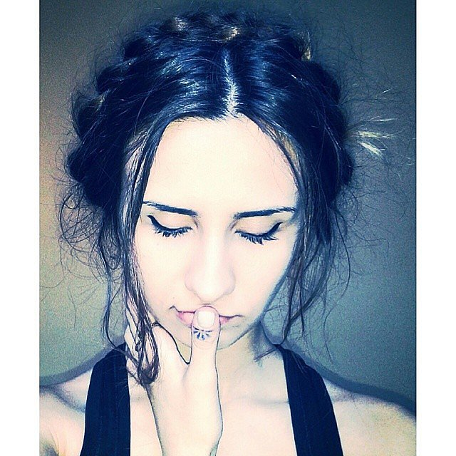 Messy Milkmaid Braid