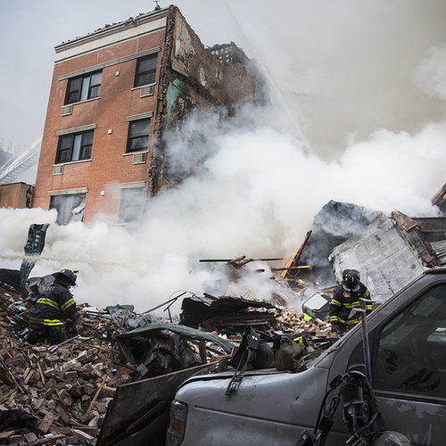 East Harlem Explosion and Building Collapse 2014 | Pictures