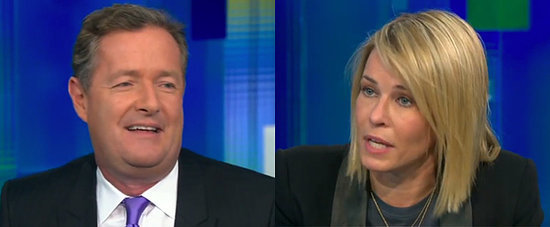 Things Got Really Awkward Between Piers Morgan and Chelsea Handler Last Night