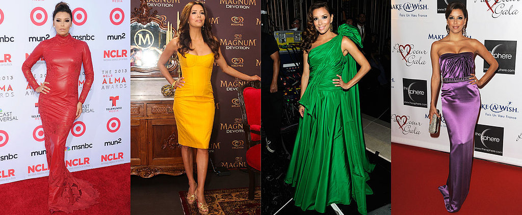 How Eva Longoria Gives Rainbow Brite a Run For Her Money