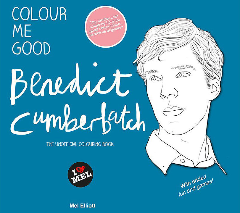 Need It Now: The Benedict Cumberbatch Coloring Book