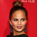 Chrissy Teigen Beautiful Cheekbones, Makeup, Hair & Beauty