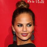 Chrissy Teigen Beautiful Cheekbones, Makeup, Hair & Beauty
