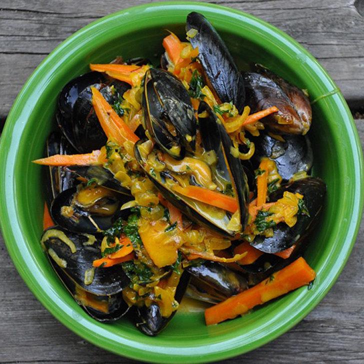 Saffron Mussels