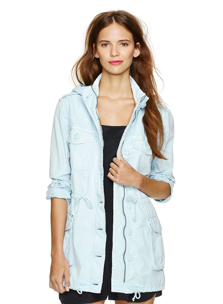 Talula light-blue anorak ($120)