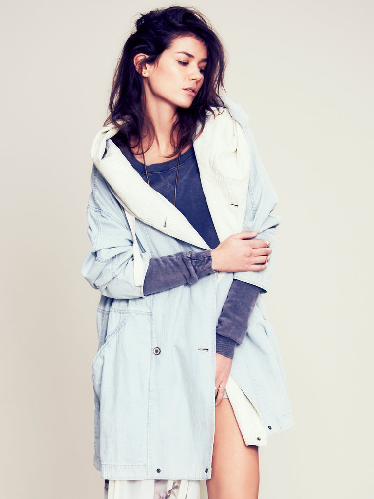 Free People light-denim coat ($228)