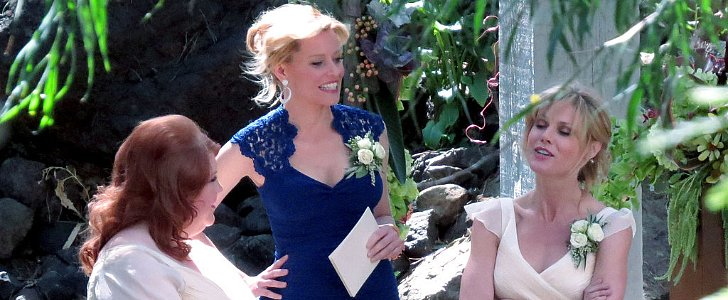 Modern Family: Get the First Look at Mitch and Cam's Wedding!
