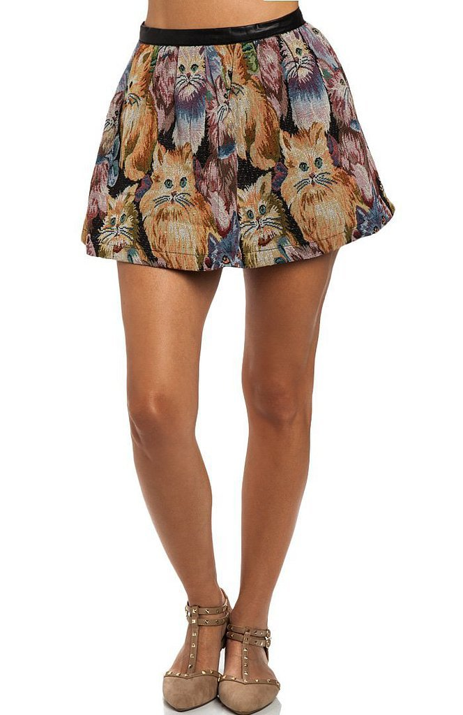 Tapestries and cats? Talk about skirt heaven ($25, originally $35).