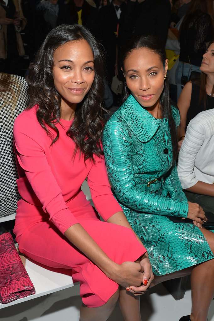 Zoe Saldana and Jada Pinkett Smith