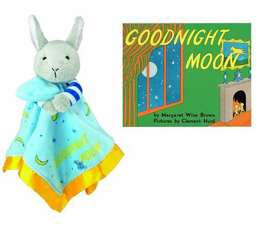 Goodnight Moon Bunny Blankie and Board Book