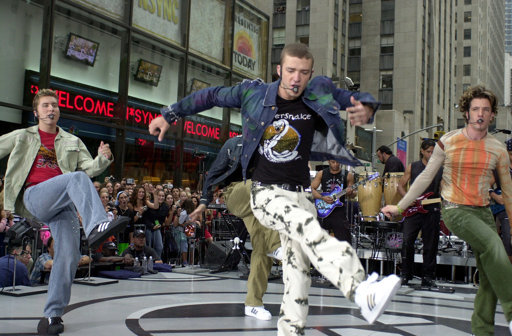 When he performed on the Today show and you loved him despite his pants.