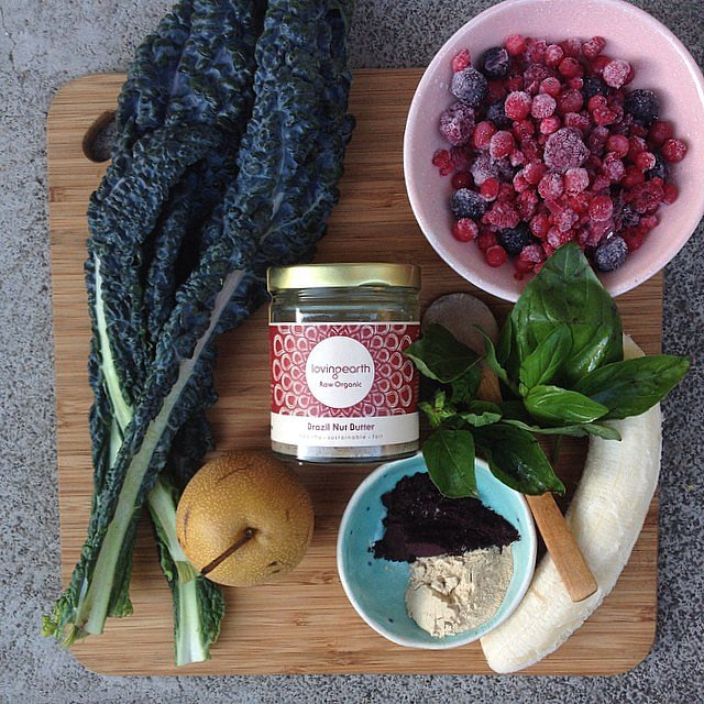 All the ingredients for an amazing smoothie. Source: Instagram user loving_earth