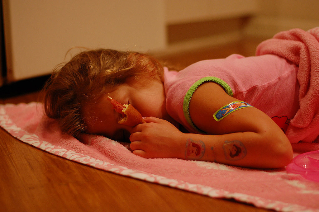 Oh, the Places Kids Will Sleep: Beds Are So Overrated!