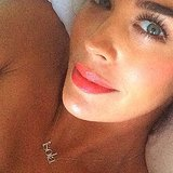 Interview With Pregnant Megan Gale About Beauty Must Haves
