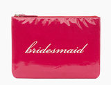 Kate Spade New York Wedding Belles Gia Bridesmaid Red Clutch ($25, originally $78)