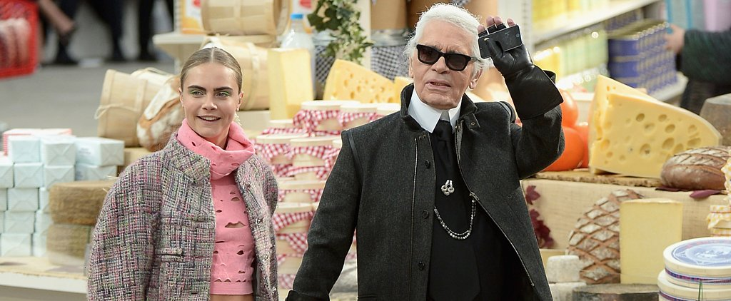 Cara and Karl Make the Perfect Fashion Couple