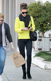 Kate Beckinsale in Yellow Sweater