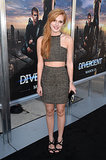 Bella Thorne at the Divergent Los Angeles Premiere