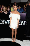 Zoë Kravitz at the Divergent Los Angeles Premiere