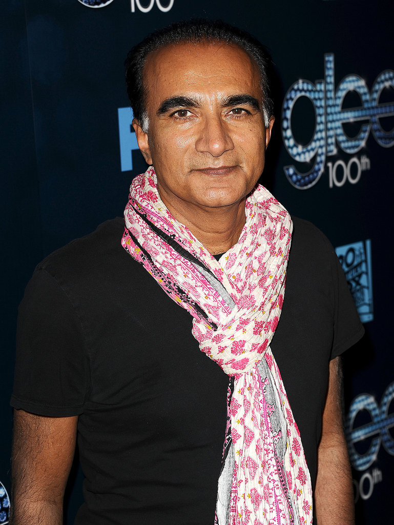 Iqbal Theba looks a lot different than Principal Figgins off screen!
