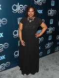Amber Riley looked gorgeous in black.