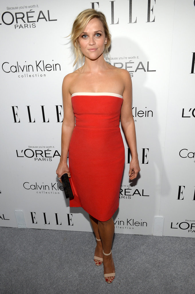 Reese Witherspoon in Calvin Klein at 2013 ELLE Women in Hollywood Event