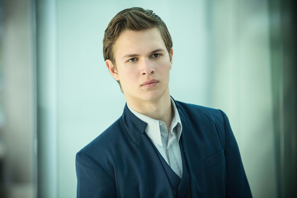 Ansel Elgort looks quite dapper in Erudite.