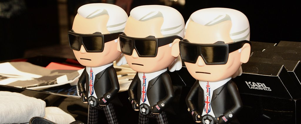 When Plain Ol' Clapping Hands Won't Do, Send a Karl Lagerfeld Emoji