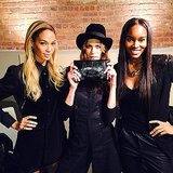 Joan Smalls, Frankie Rayder, and Damaris Lewis