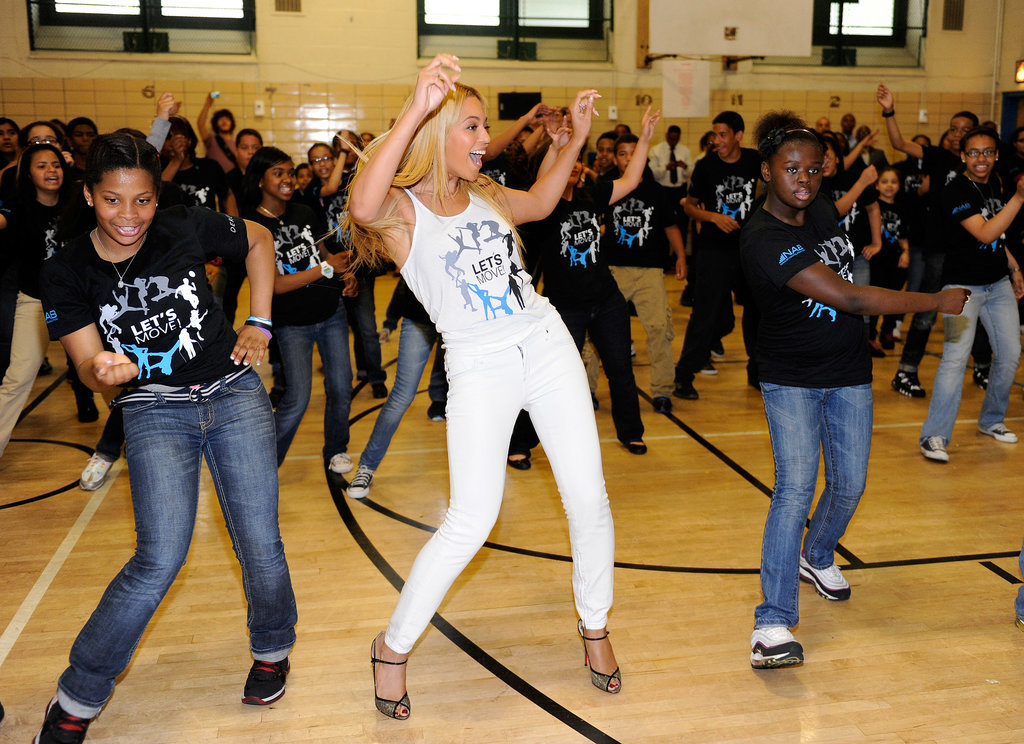 Beyoncé Surprising Students at a Public School in Harlem