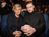 When he brought Ellen DeGeneres to the People's Choice Awards and they were hilarious.