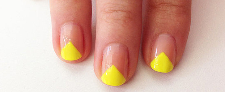 The Edgy Neon Nail Art Look Anyone Can Master