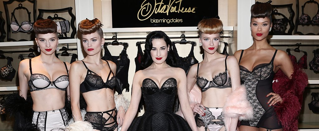 Dita Proves There's Nothing More Glamorous Than a Zac Posen Gown